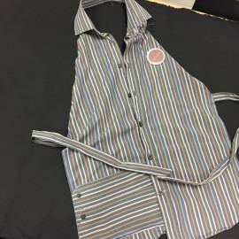 Tablier à base d'une chemise